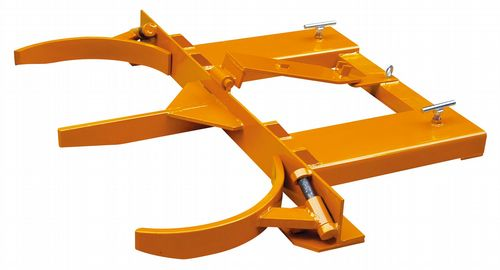 Double Drum Grab - 680KG 1360KG Fork Lift Attachment Steel Handling Mover